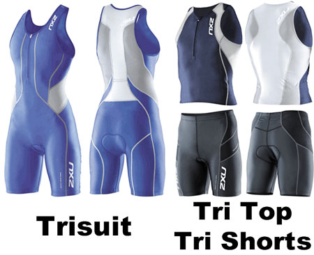 8360d9f9412 The most popular of the list above is the combination of tri tops and shorts.  This gives the triathlete the flexibility to combine different brands and  ...
