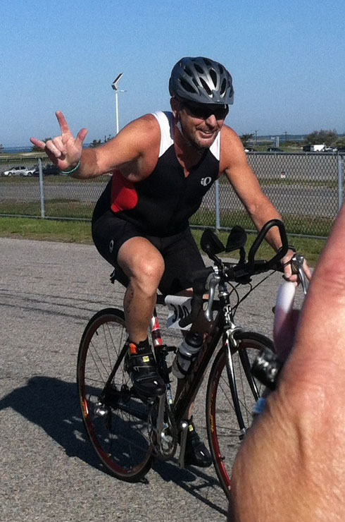 Triathlon bike segment