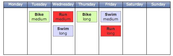 custom training plan example
