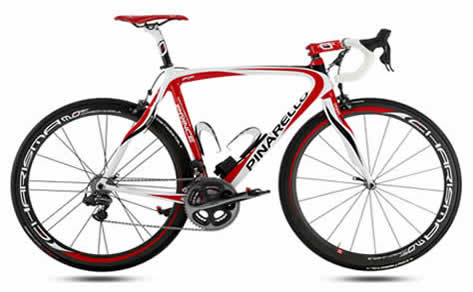Bikes Road This is a Pinarello road bike