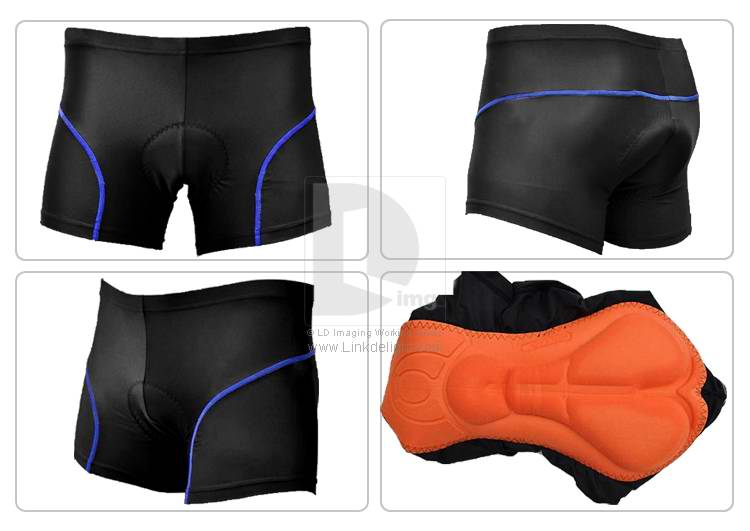 bike shorts showing pad