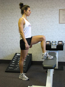 Step-Up - Flat Bench